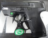 Smith & Wesson M&P  Shield 2.0 3.125 9mm with green laser 11903