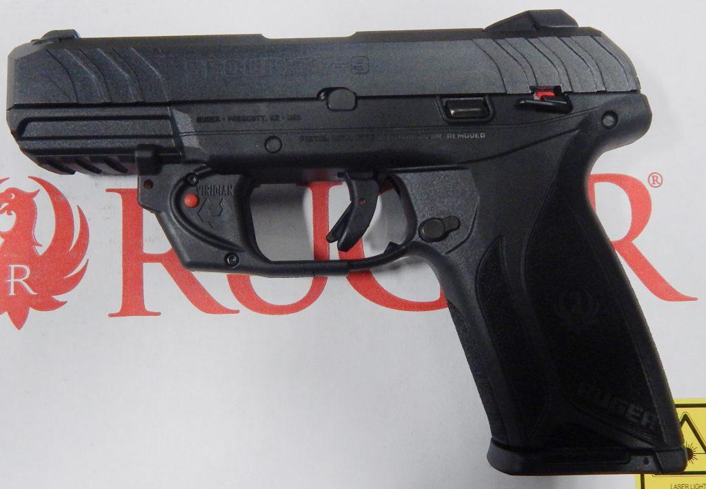 Ruger Security nine 4 9mm with laser 3816