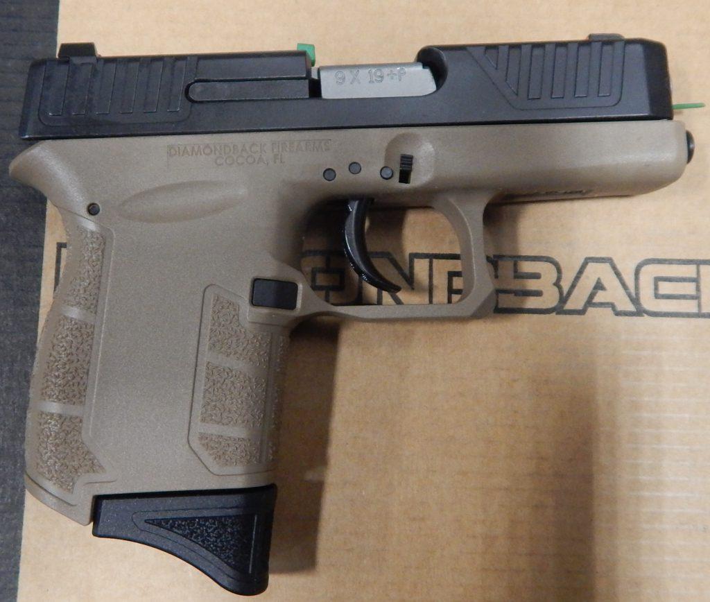 Diamondback DB9 3 9mm FDE