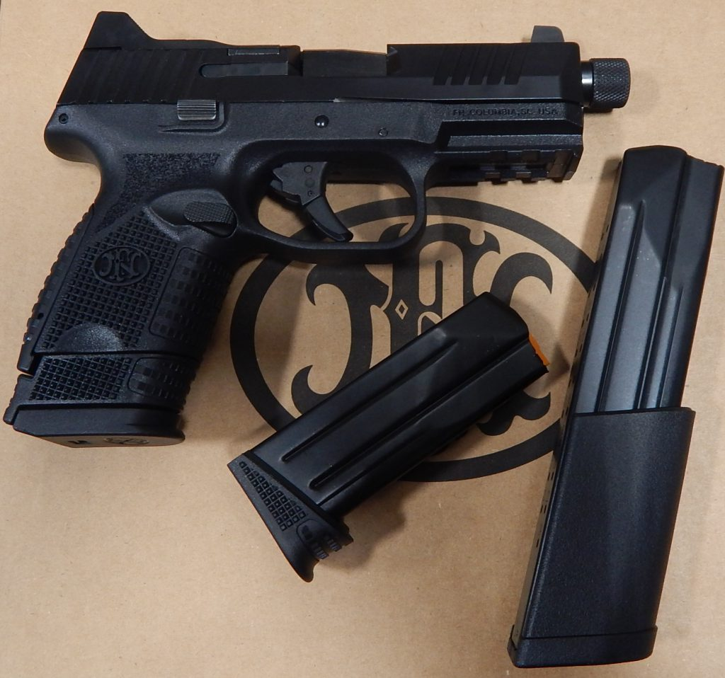 FN 509M 4.4 threaded 9mm optic ready w/3 mags