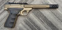 Browning Buck Mark 5.8 .22LR Burnt Bronze