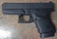 Glock 36 3.8in .45acp with guide rod laser